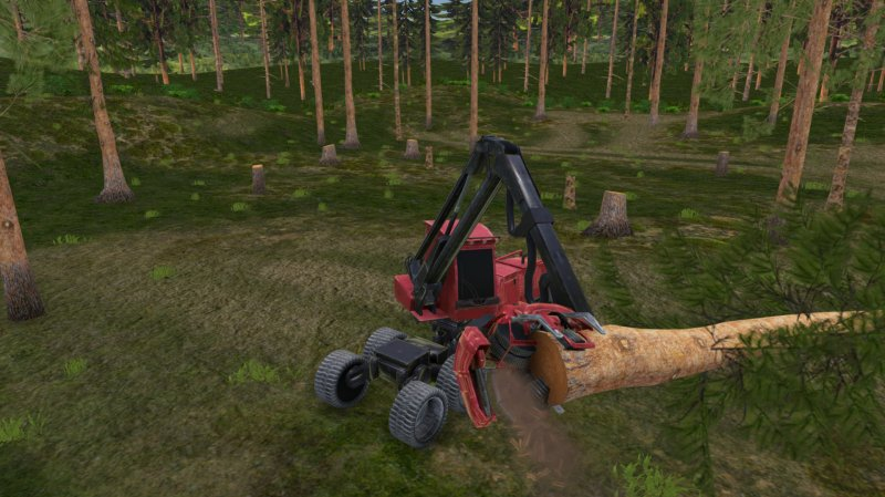 Forest Harvester Simulator截图第1张