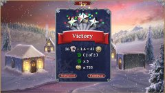 Jewel Match Solitaire Winterscapes截图