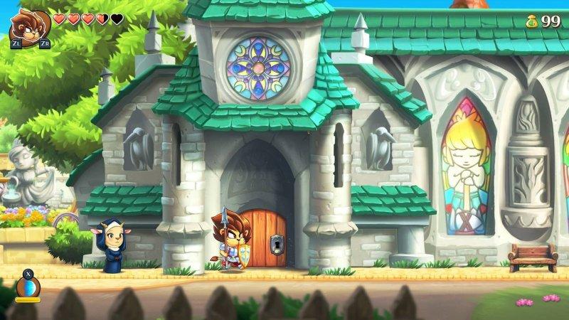 怪物男孩与被诅咒的王国截图第3张