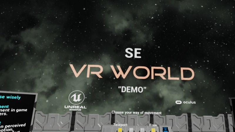 SE VR World Demo截图第1张