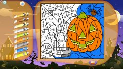 Color by Numbers - Halloween截图
