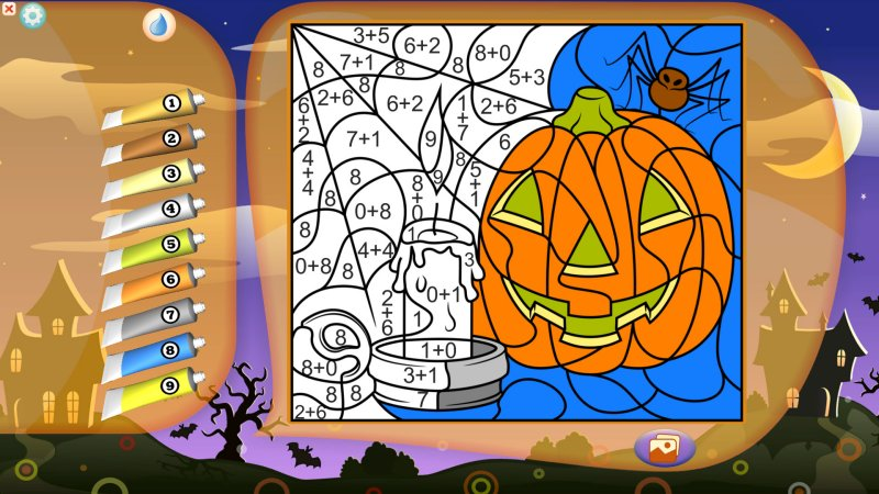 Color by Numbers - Halloween截图第5张