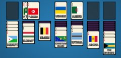 Solitaire: Learn the Flags!截图