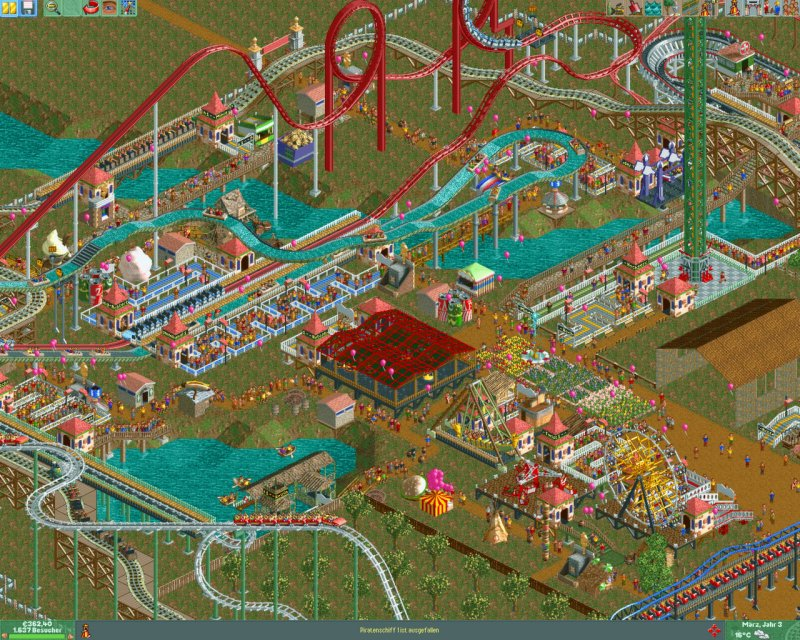 RollerCoaster Tycoon® 2: Triple Thrill Pack截图第2张