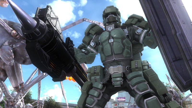EARTH DEFENSE FORCE 5截图第6张