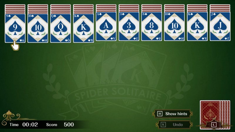 Spider Solitaire F截图第3张