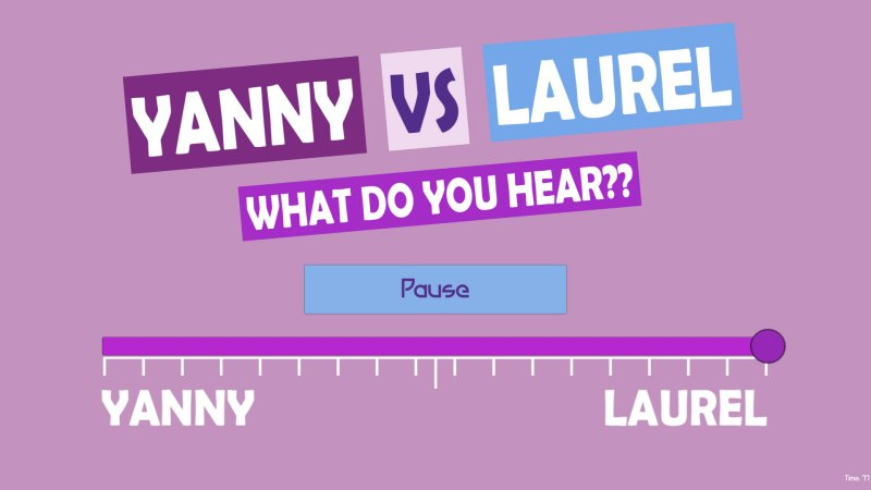 What do you hear?? Yanny vs Laurel截图第4张