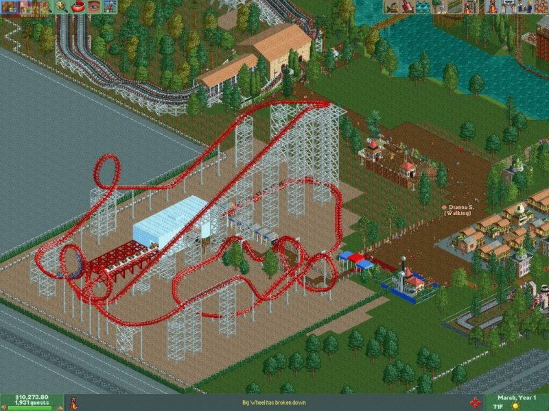 RollerCoaster Tycoon® 2: Triple Thrill Pack截图第3张