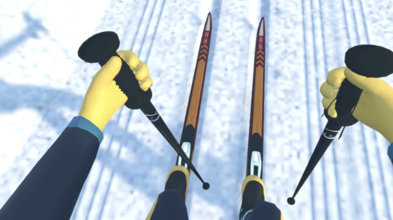 Cross Country Skiing VR截图第1张