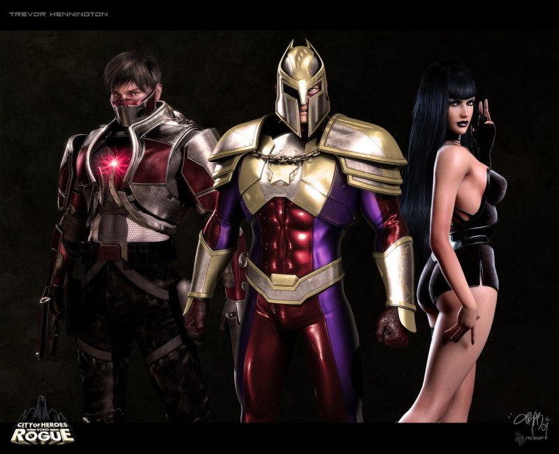 City of Heroes: Going Rogue截图第2张