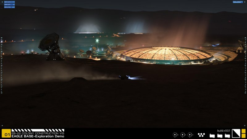 Project Eagle: A 3D Interactive Mars Base截图第3张