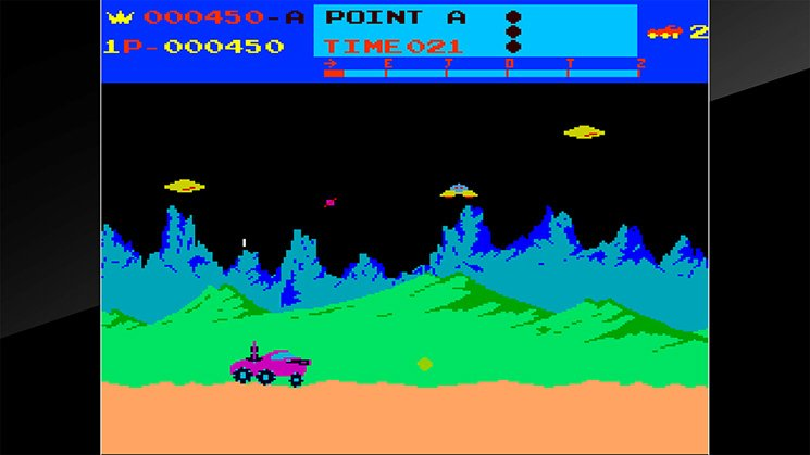 Arcade Archives Moon Patrol截图第2张