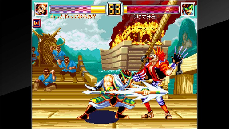 ACA NeoGeo World Heroes 2 JET截图第4张
