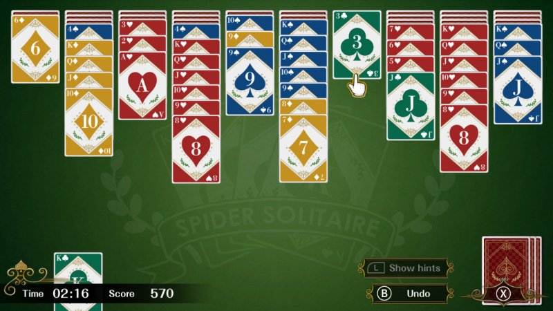 Spider Solitaire F截图第4张