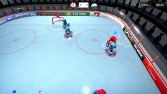 3 on 3 Super Robot Hockey截图