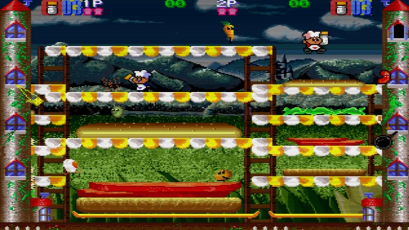 Johnny Turbo's Arcade: Super Burger Time截图第3张