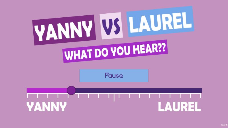 What do you hear?? Yanny vs Laurel截图第2张