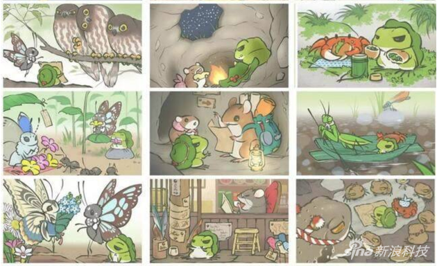游戏的主角,那只有点酷的青蛙