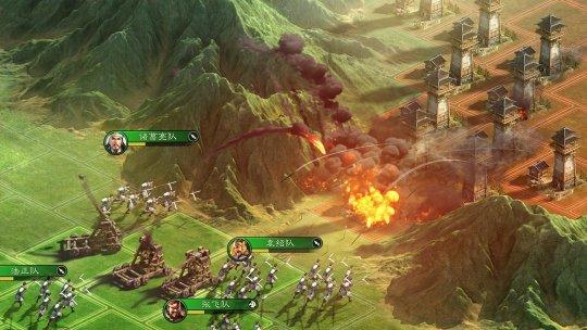图3:金菊组合在游戏中因地制宜 布局攻防.jpg