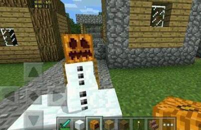 发现雪傀儡的真实面貌,Notch为玩家保留造型