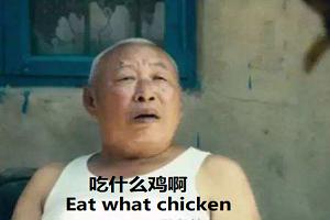 用文言文解说吃鸡