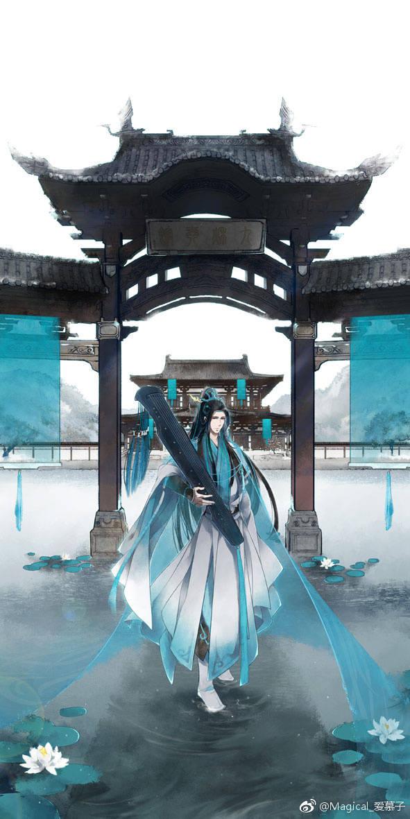 剑网3超美手绘风景 是旅途也是江山风月