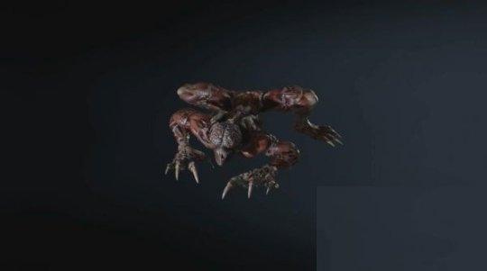生化危机3重制版 舔食者怪物各姿势图鉴