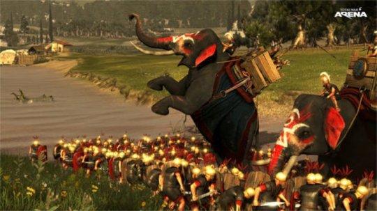 《全面战争:竞技场》中国战象现已登场,踏平罗马!
