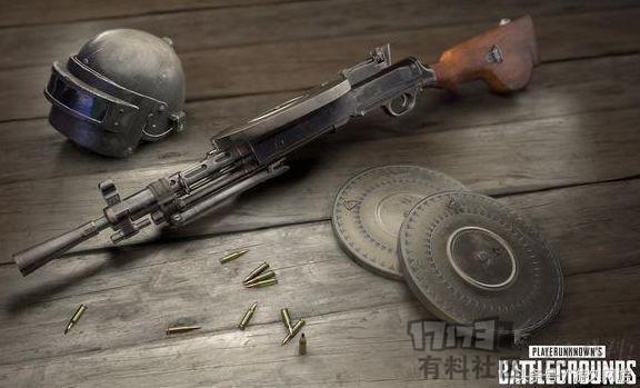 鸡肋还是神器?绝地求生DP-28武器解析