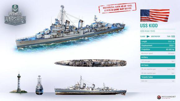 战舰世界 基德号值不值得买