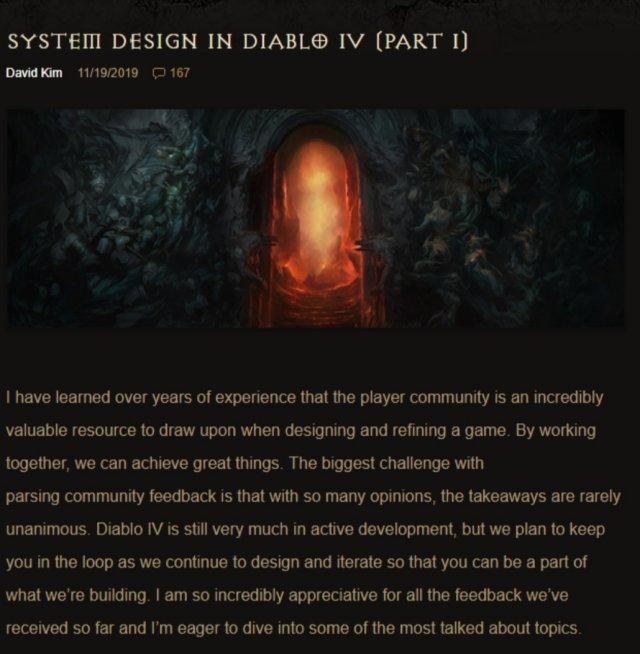 传奇装备不传奇?《暗黑4》开发者透露系统设计细节
