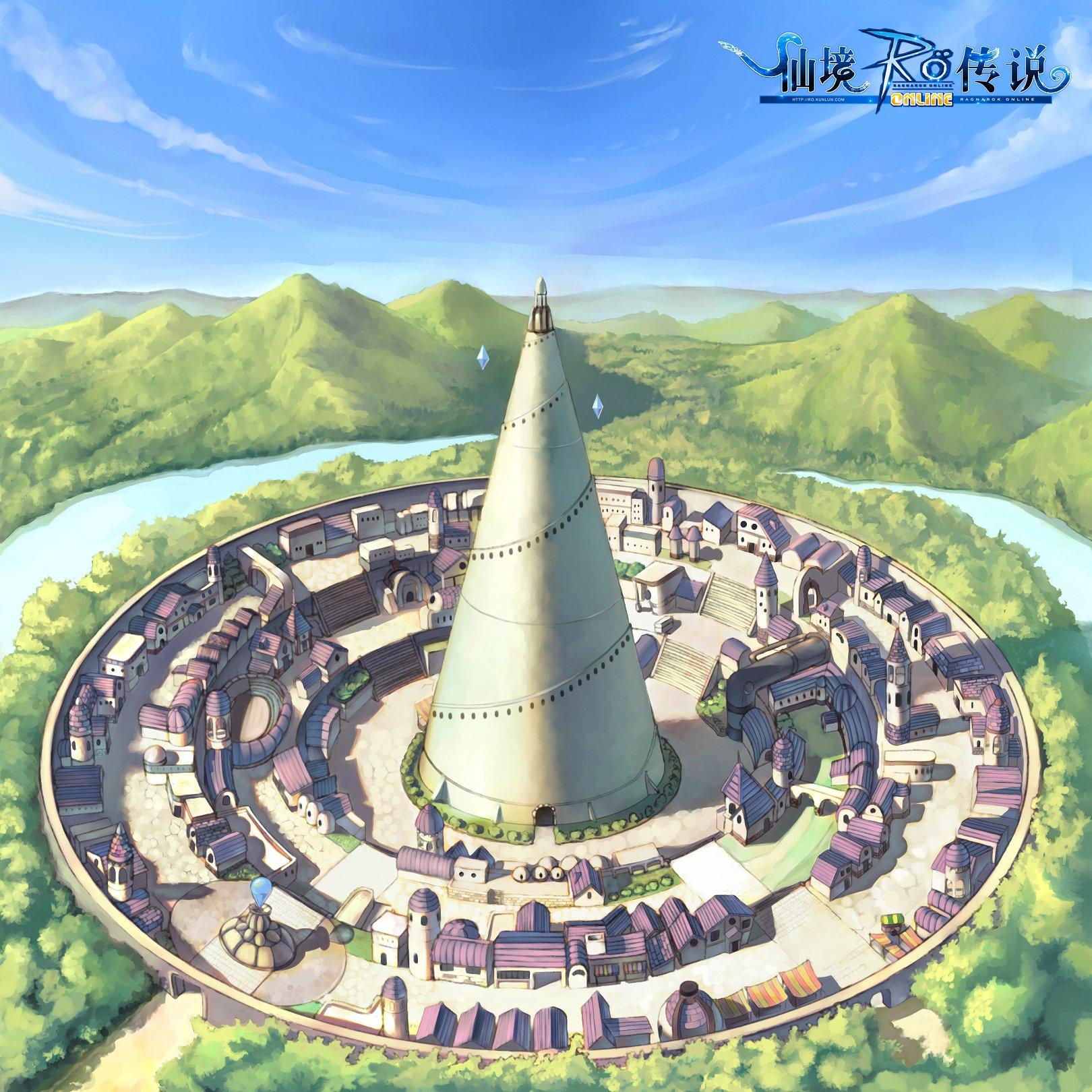 ro仙境传说精美场景原画欣赏 ro场景壁纸