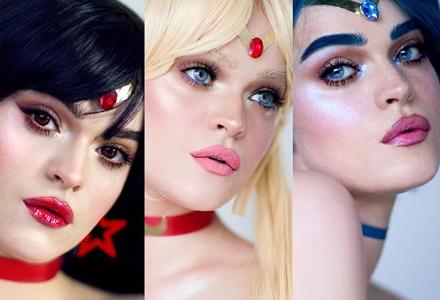 超神化妆师把自己变成《美少女战士》里的所有角色 比二次元还美的脸蛋太不真实了!