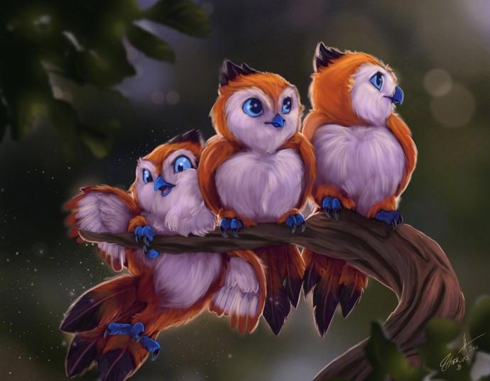 画作:一只佩佩是来卖萌的 那么三只佩佩呢?