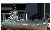 战舰世界围观新船 法系8级战列RICHELIEU
