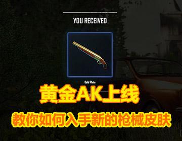 黄金AK上线 教你如何入手新的枪械皮肤