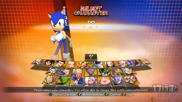 Dragon Ball FighterZ Mods - Sonic, Super Sonic, Lobby Sonic Avatar! Preview WIP_20180213105302.jpg