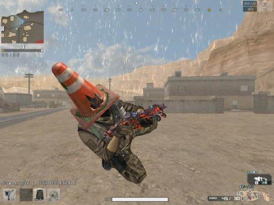 穿越火线:沙海生存模式试玩 游戏里面居然还有平衡车 上手零门槛