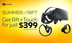 Oculus夏季大促销9月5日结束 冰点价即将回升