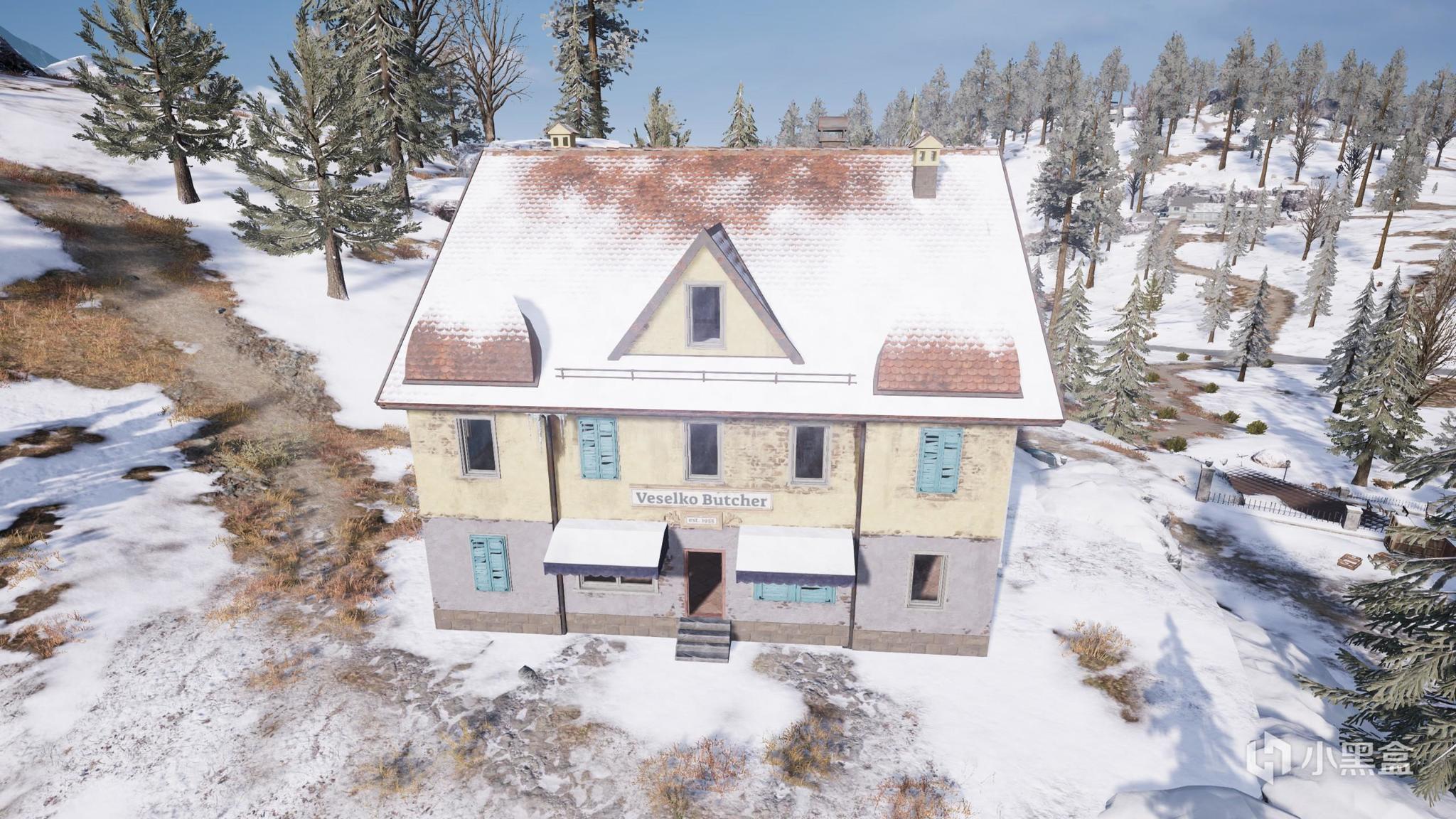 绝地求生上房揭瓦维寒迪中那些危险的屋顶