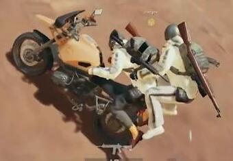 双人摩托车羞耻BUG,开车效果不堪入目
