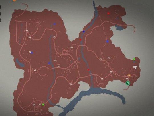 腐烂国度2 地图中隐藏物资点红点为射击类