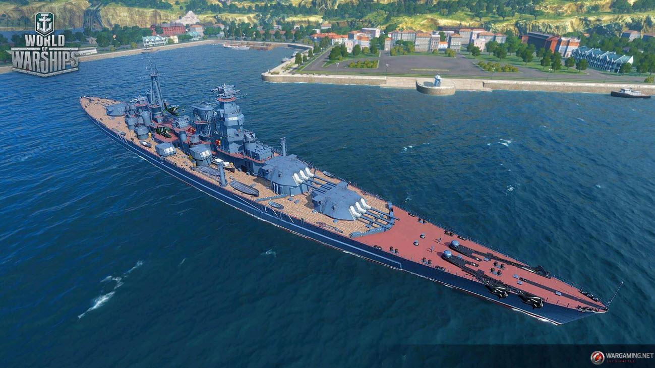 战舰世界超测服:苏系9级巡洋舰喀琅斯塔来了