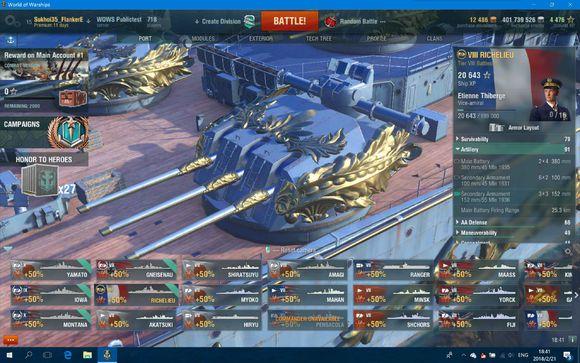 战舰世界 072版本PT服全新Hermes行动抢先看