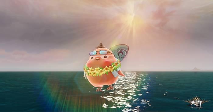 咕咕系列新成员 天谕海滩大佬冲浪咕闪亮登场