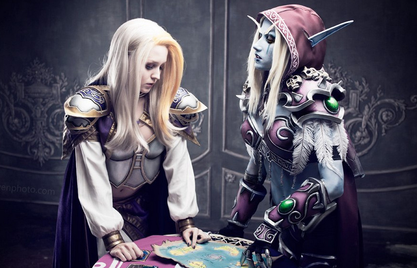 魔兽8.0其实是两个女人间的战争!吉安娜和希尔瓦娜斯谁会先进本?