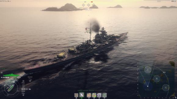 让战舰世界实现电影般游戏画面