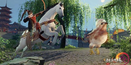 《剑网3》清明活动今日开启 骑射柳枝拿花篓