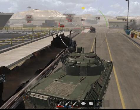 凯瑞装甲战争AW解说:初体验 豹1还是那么帅