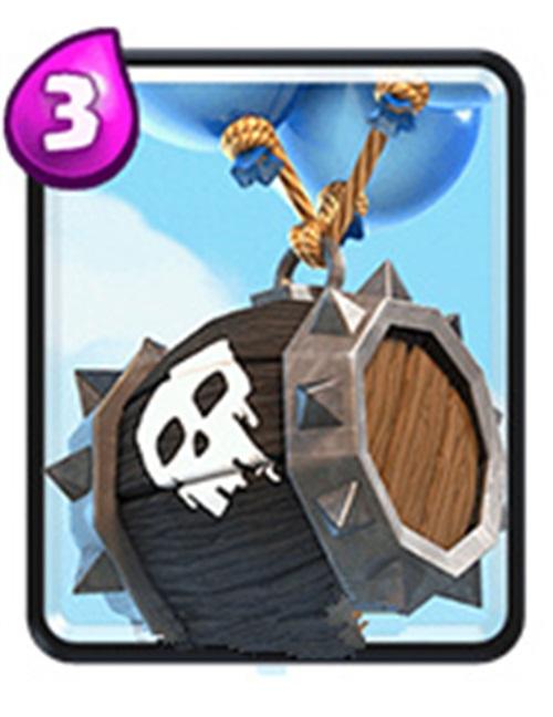《皇室战争》高胜率卡组搭配 骷髅气球组合
